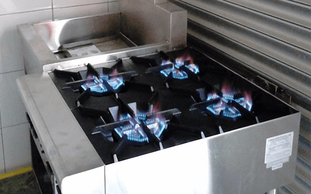 Repair, service and install LPG gas stove for industrial canteen factories in KL and Selangor