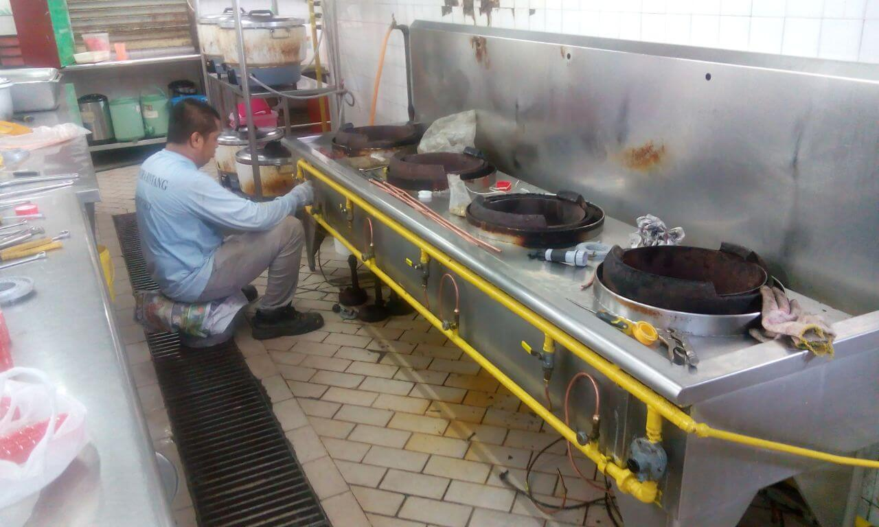 Gas Paip Leakage Inspection And Maintenance Service