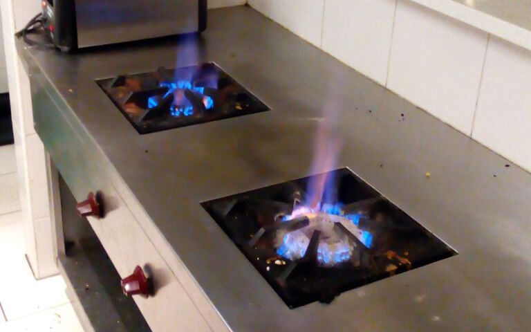 Gas stove burner flame upgrade in KL and Selangor