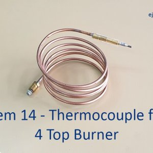 Thermocouple for 4 Top Burner