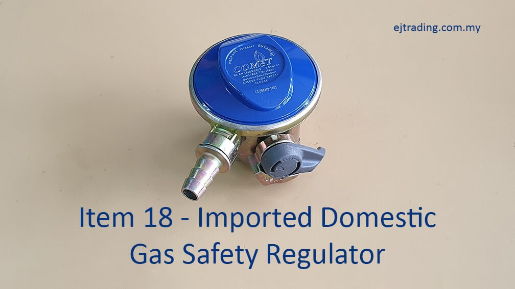 Imported Domestic Gas Safety Regulator