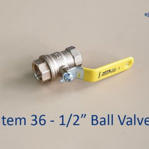 Half inch Ball Valve for Gas Pipe