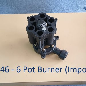 Imported 6 Pot Burner