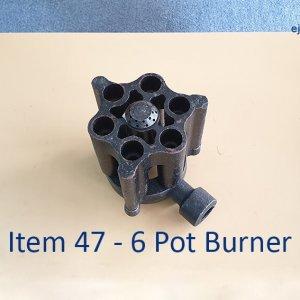 6 Pot Burner