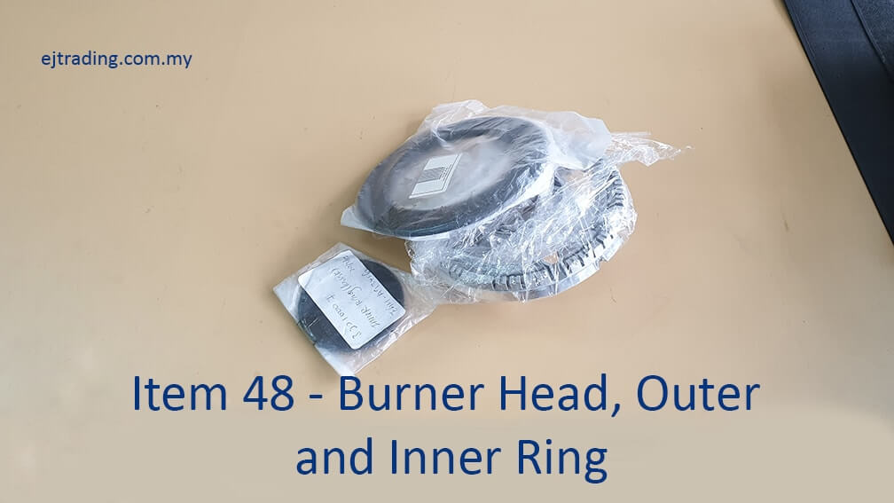 Burner head and Outer Inner Ring