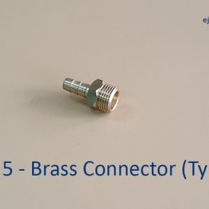 Gas Pipe Brass Connector