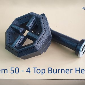4 Top Gas Burner Head