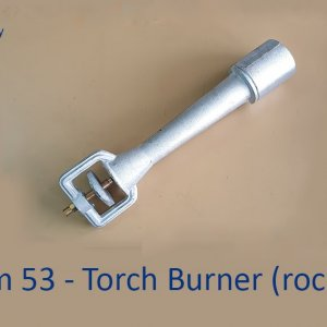 Rocket Torch Gas Burner