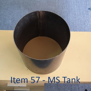 MS Tank for Gas Stove