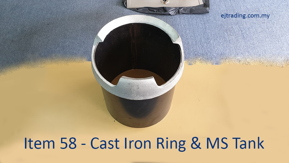 Cast Iron Ring and MS Tank for Gas Stove