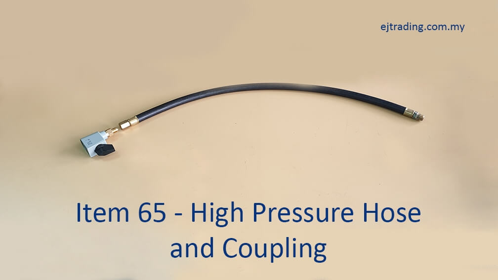High Pressure Gas Hose with Coupling