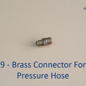 High Pressure Hose Brass Connector