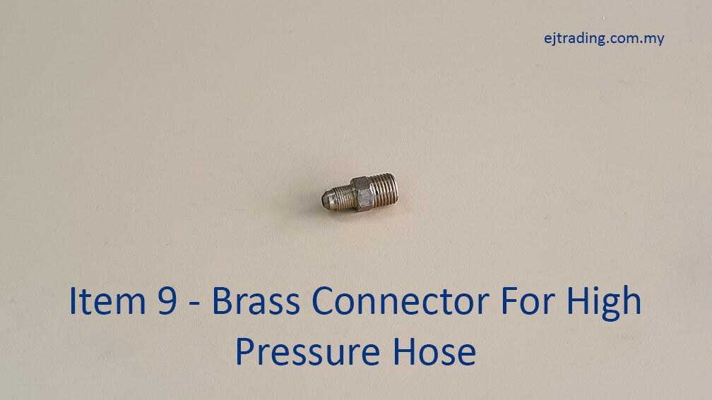 High Pressure Hose Brass Connector
