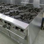 Gas Stove Hub Burner Maintenance for Commercial Kitchen in hotel
