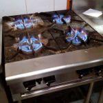 Regular maintenance service for restaurant for maximum flame output