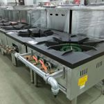 Installing industrial grade natural gas powered food processor and manufacturing